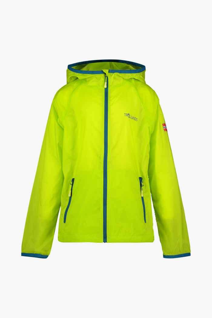 Trollkids Fjell Running veste outdoor enfants Couleur Jaune 1