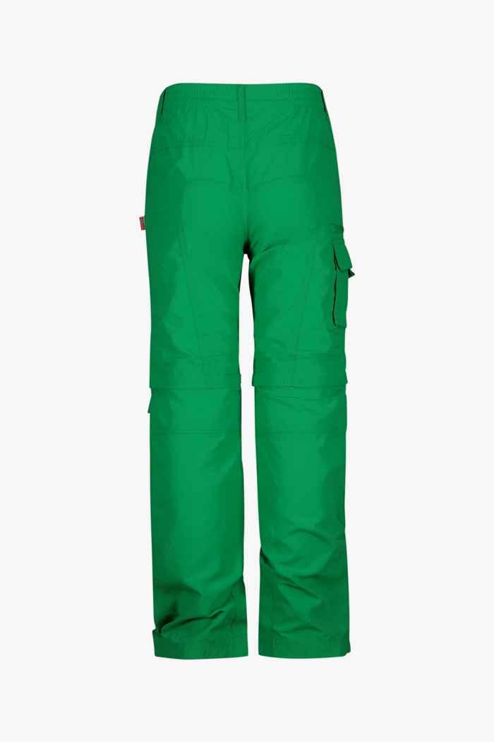 Trollkids Oppland Zip-Off Kinder Wanderhose Farbe Grün 2