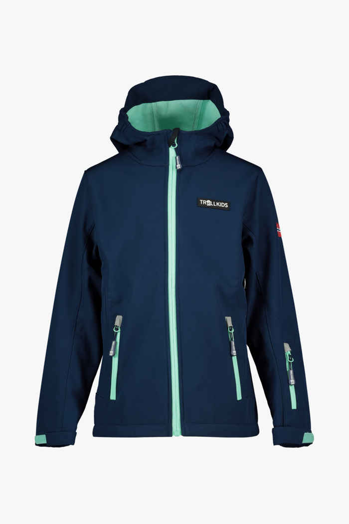 Trollkids Oslofjord giacca softshell bambina 1