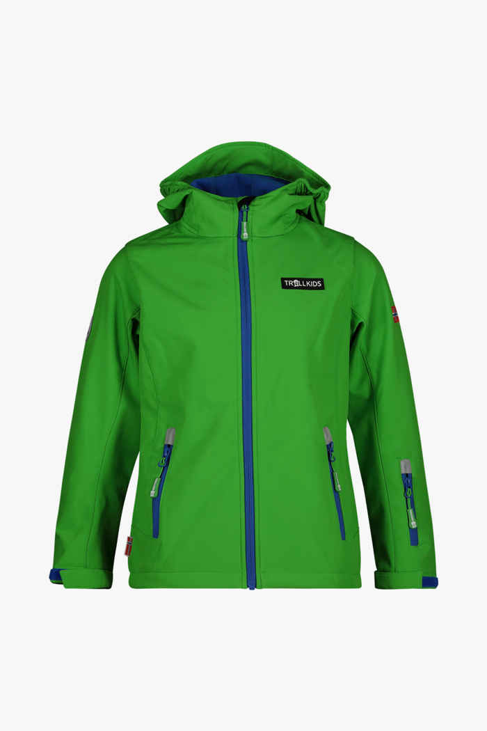 Trollkids Oslofjord giacca softshell bambini Colore Verde 1