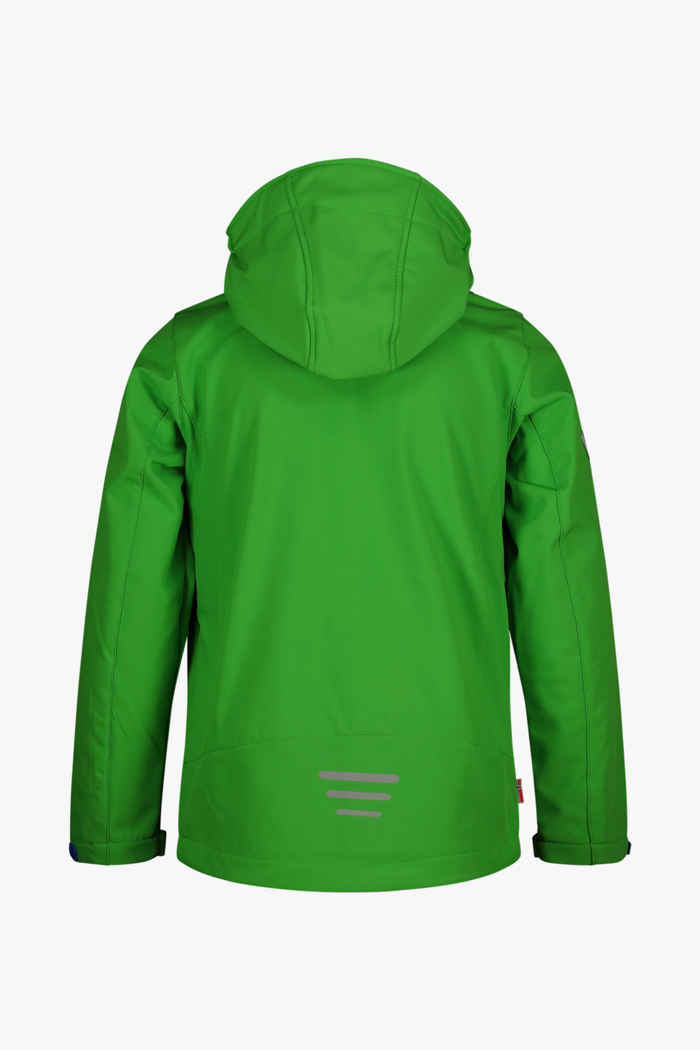Trollkids Oslofjord Kinder Softshelljacke Farbe Grün 2