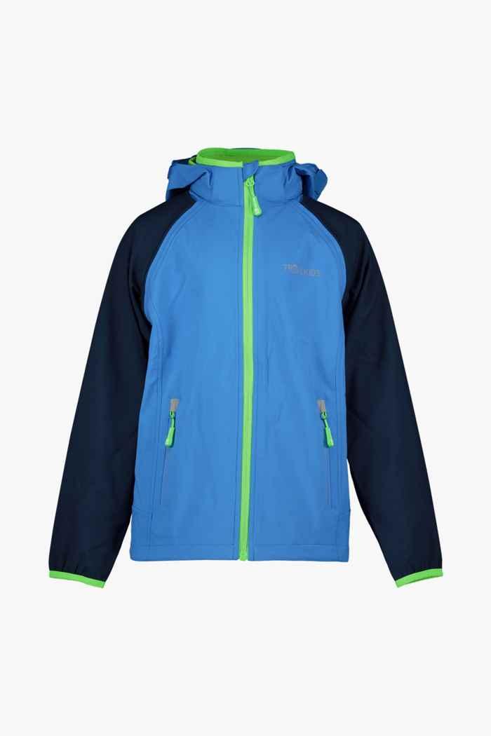 Trollkids Rodane Zip-Off XT giacca softshell bambini Colore Blu 1