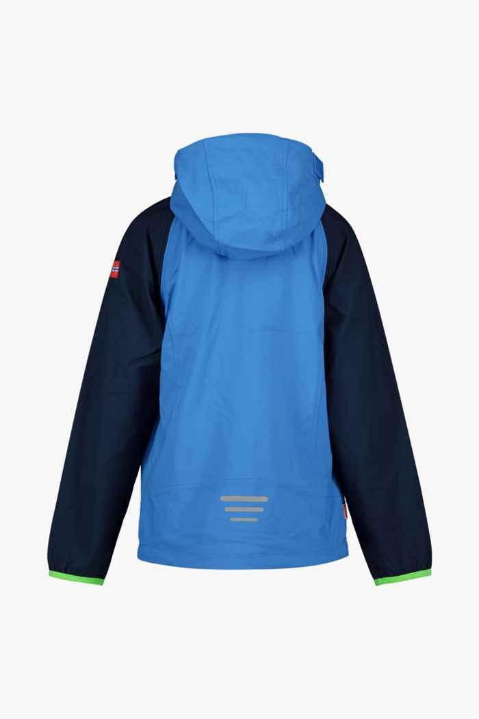 Trollkids Rodane Zip-Off XT giacca softshell bambini Colore Blu 2