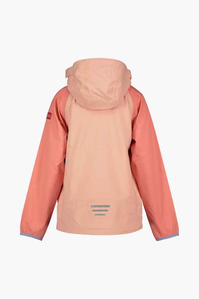 Trollkids Rodane Zip-Off XT veste softshell filles Couleur Apricot 2