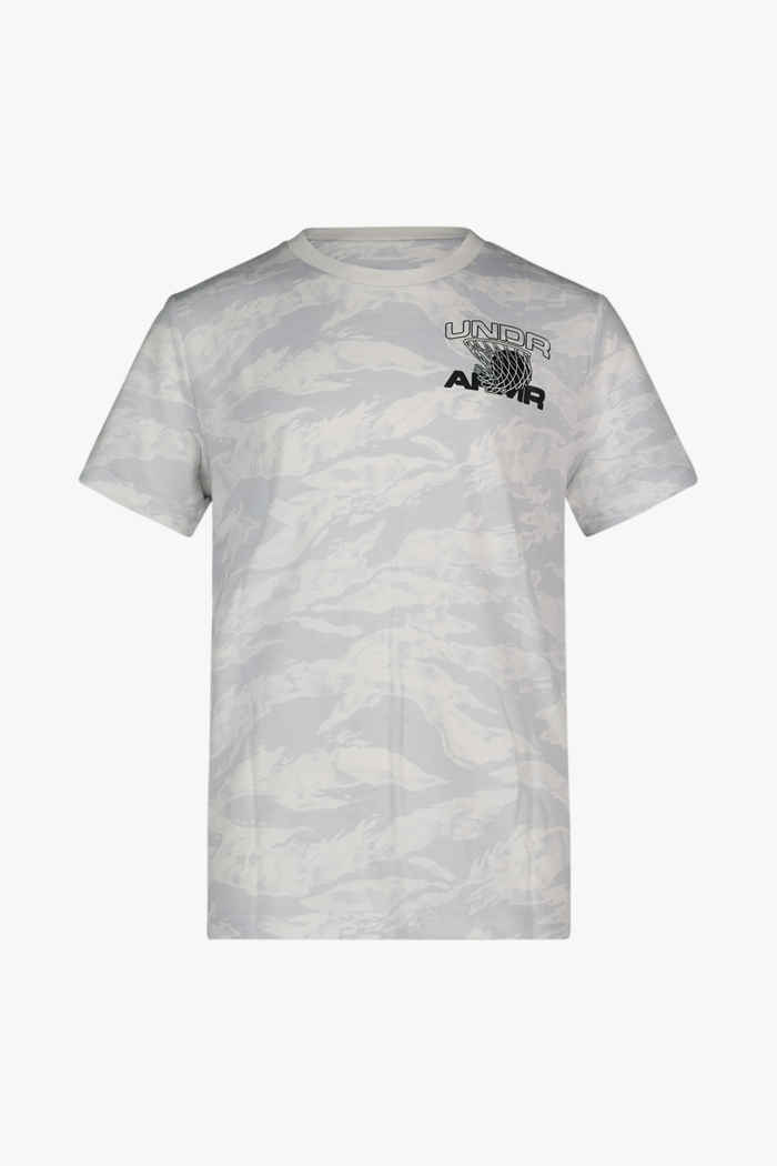 Under Armour AOP Camo t-shirt bambino 1