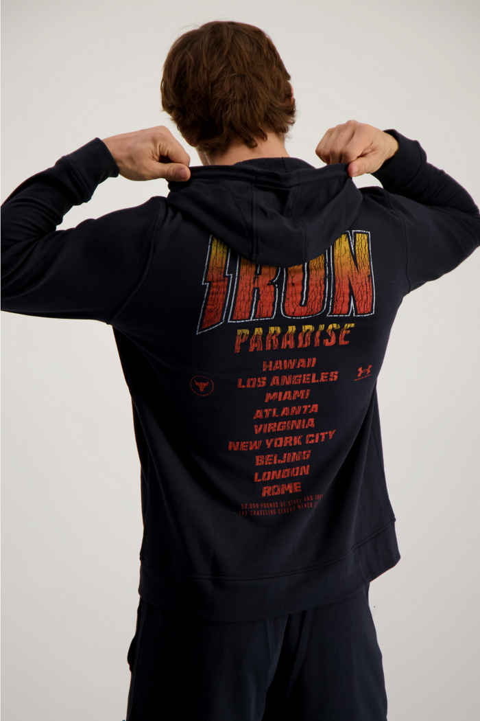 Under Armour Project Rock hoodie uomo 2