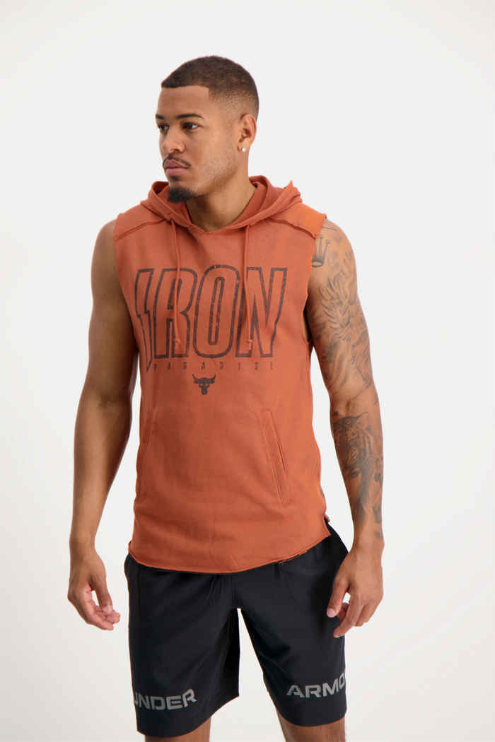 Under Armour Project Rock Iron hoodie hommes 1