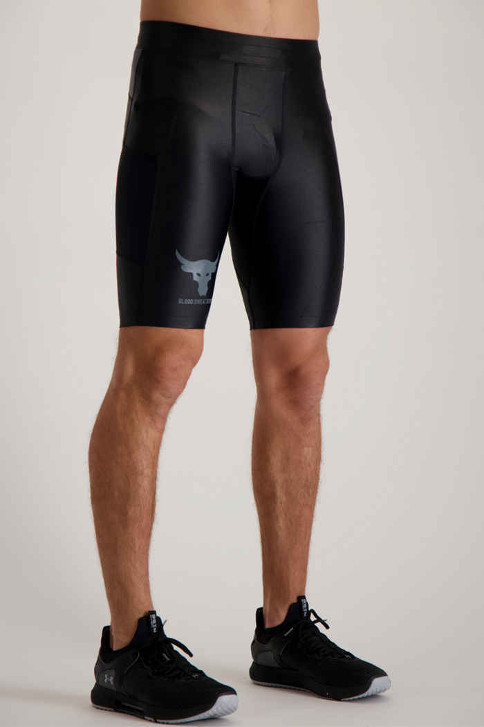 Under Armour Project Rock Iso-Chill short hommes 1