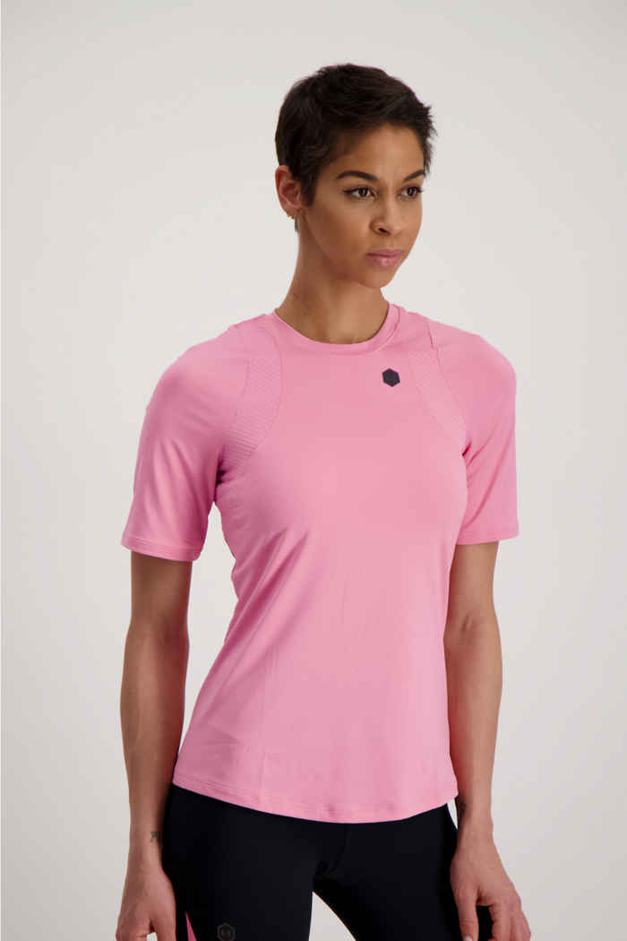 Under Armour Rush t-shirt donna Colore Rosa 1