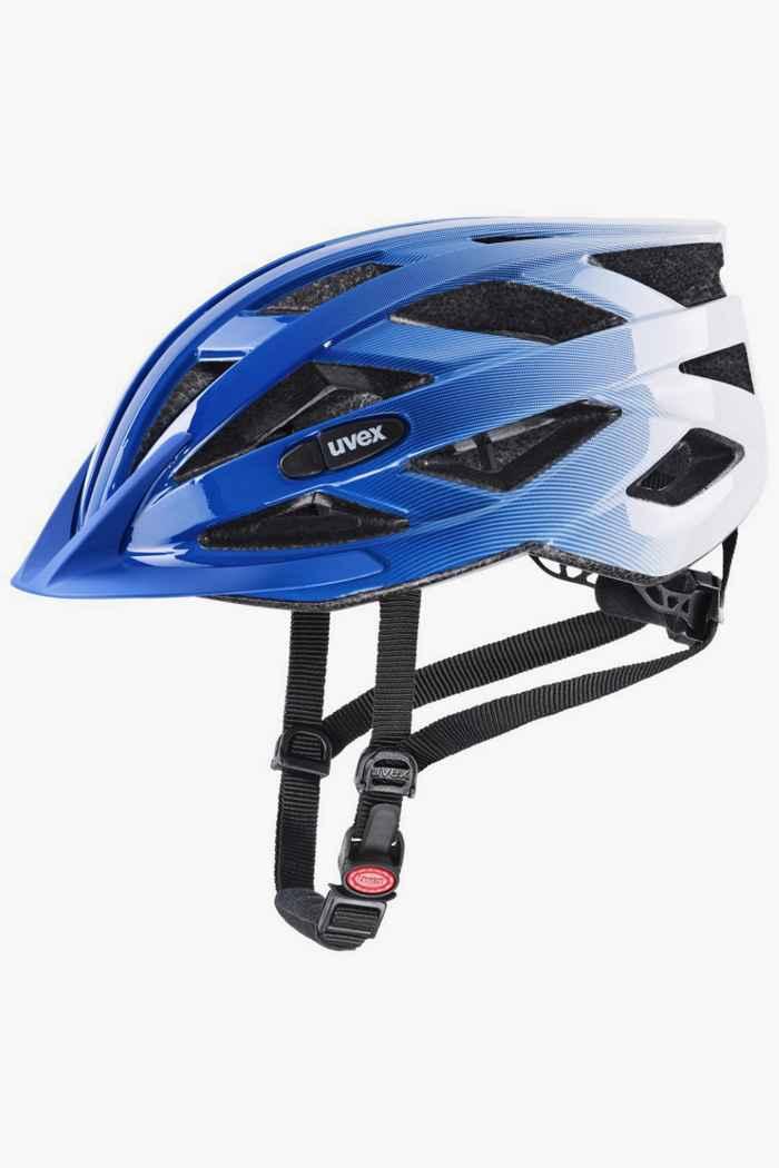 Uvex air wing casco per ciclista bambini Colore Bianco-blu 1