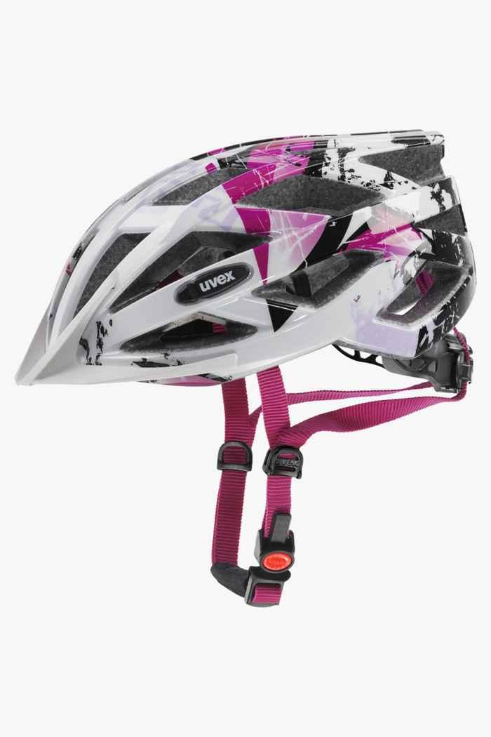 Uvex air wing casque de vélo filles Couleur Rose vif 1