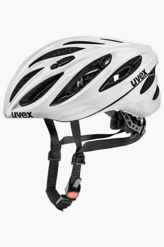 Uvex Boss Race Velohelm Farbe Weiß 1