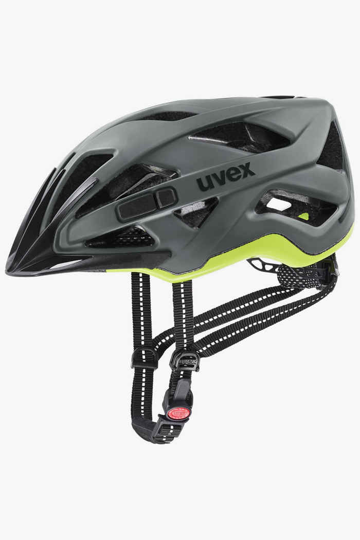 Uvex city active casco per ciclista Colore Grigio 1