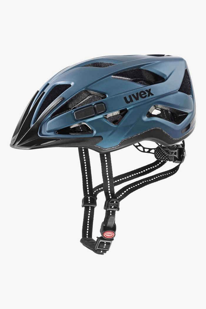 Uvex city active casque de vélo Couleur Bleu 1