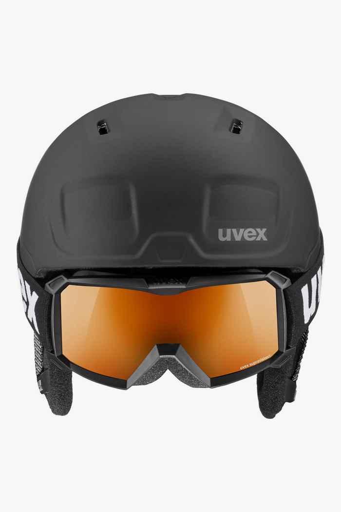 Uvex Heyya Pro casque de ski + masque enfants Couleur Noir 2