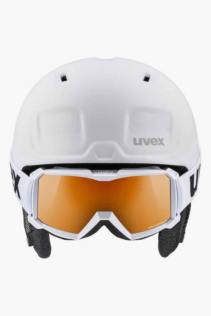 Uvex Heyya Pro casque de ski + masque enfants Couleur Noir-blanc 2