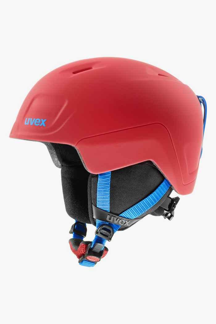 Uvex Heyya Pro casque de ski enfants Couleur Rouge 1