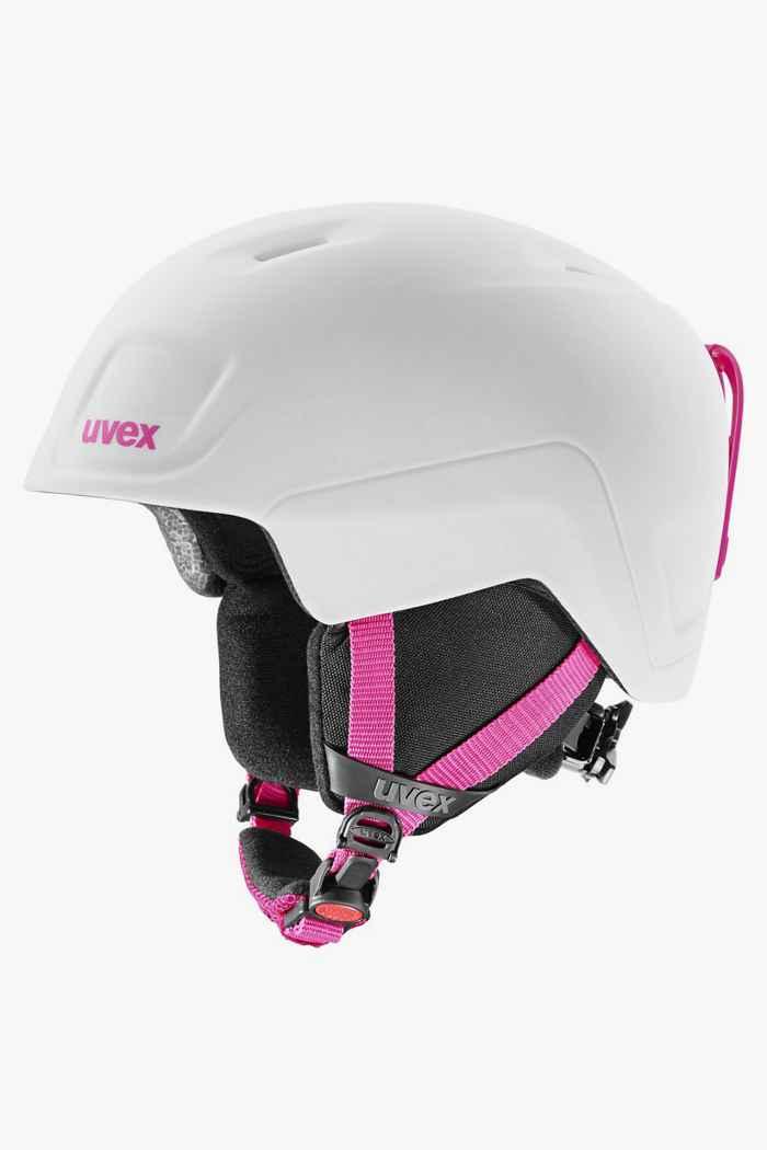 Uvex Heyya Pro casque de ski filles Couleur Rose vif 1