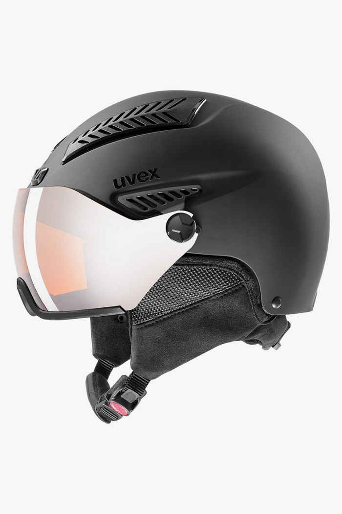 Uvex Hlmt 600 Visor Skihelm Farbe Schwarz 1