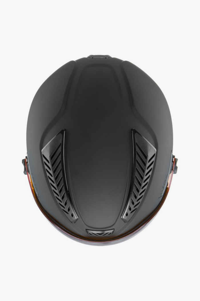 Uvex Hlmt 600 Visor Skihelm Farbe Schwarz 2