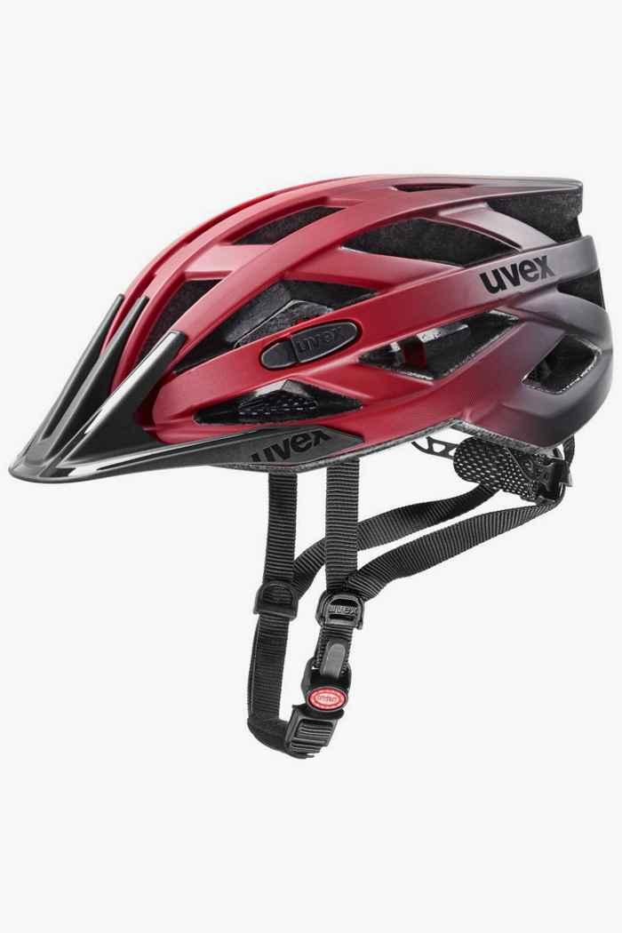 Uvex i-vo cc casque de vélo Couleur Rouge 1