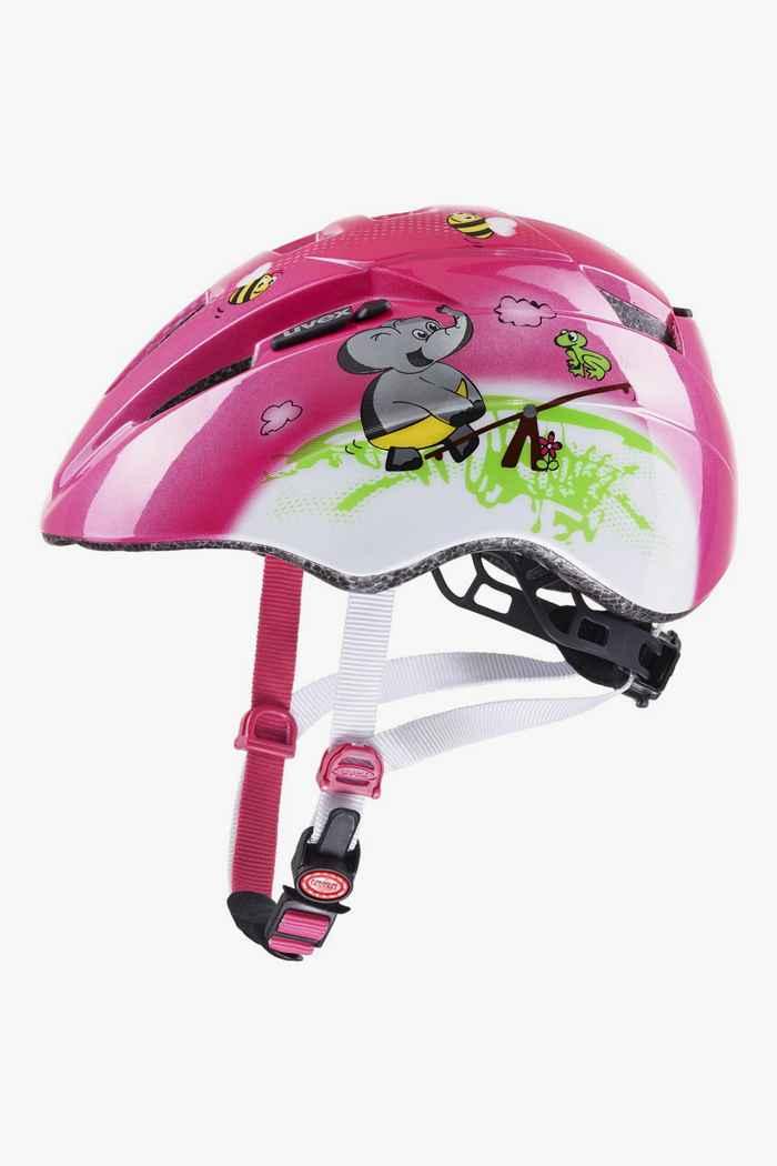 Uvex kid 2 casque de vélo filles Couleur Rose vif 1