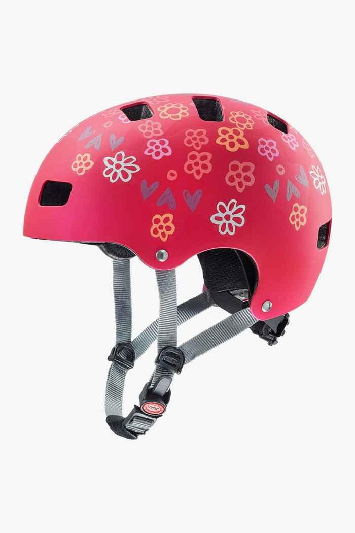 Uvex kid 3 cc casco per ciclista bambina 1