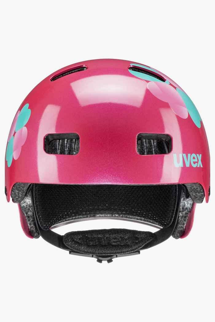 Uvex kid 3 Mädchen Velohelm Farbe Pink 2