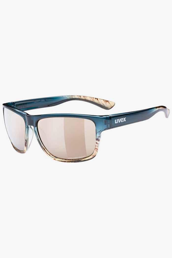 Uvex lgl 36 CV lunettes de soleil Couleur Bleu 1