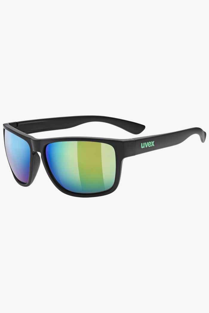 Uvex lgl 36 CV lunettes de soleil Couleur Noir 1