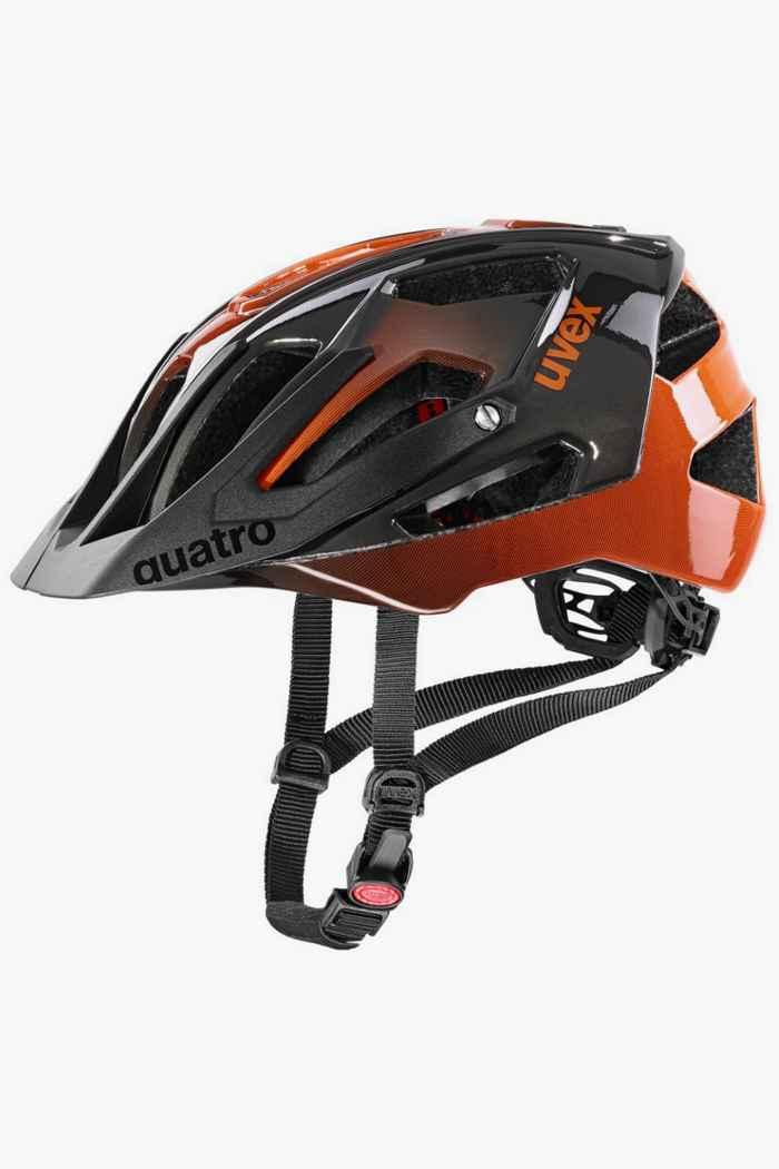 Uvex quatro casco per ciclista Colore Arancio 1
