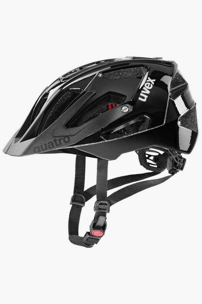 Uvex quatro casco per ciclista Colore Nero 1