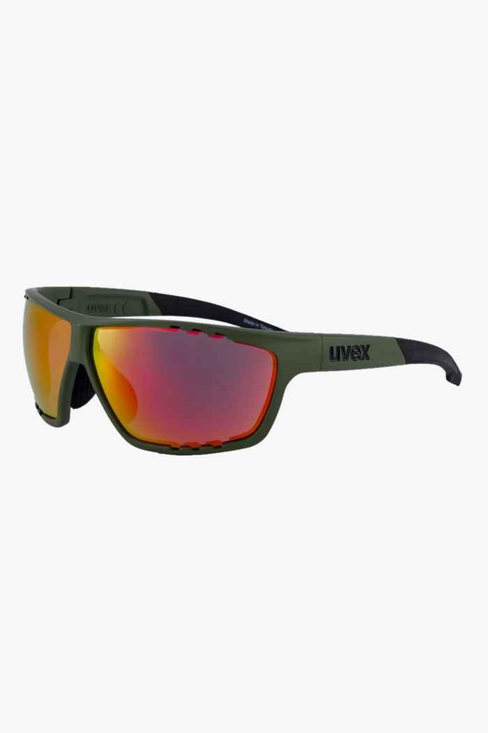 Uvex Sportstyle 706 occhiali sportiv Colore Verde oliva 1
