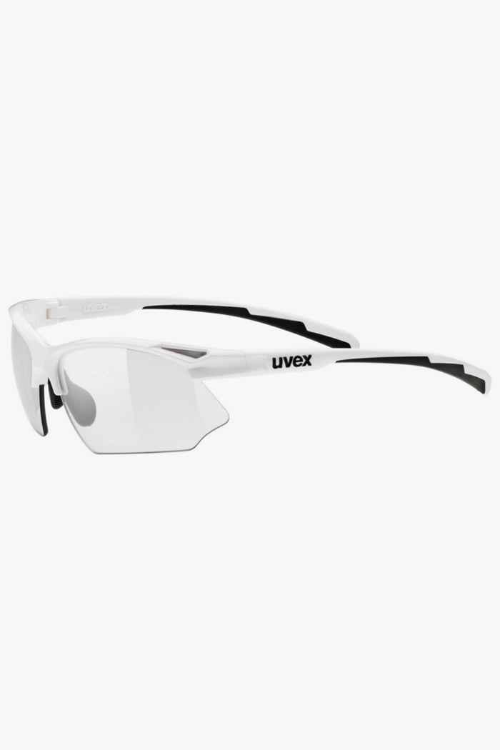 Uvex Sportstyle 802 V lunettes de sport Couleur Blanc 1