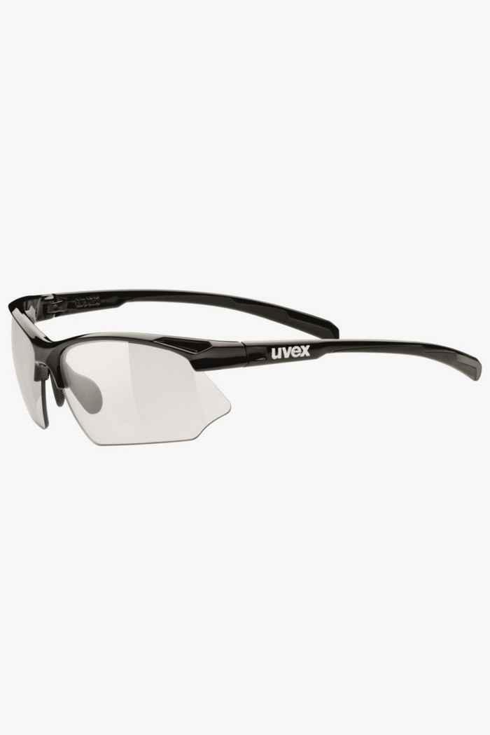 Uvex Sportstyle 802 V lunettes de sport Couleur Noir 1