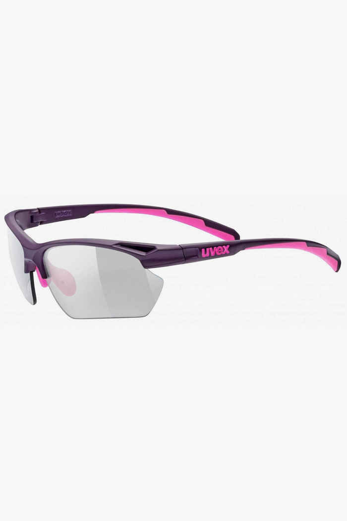 Uvex Sportstyle 802 V lunettes de sport Couleur Rose vif 1