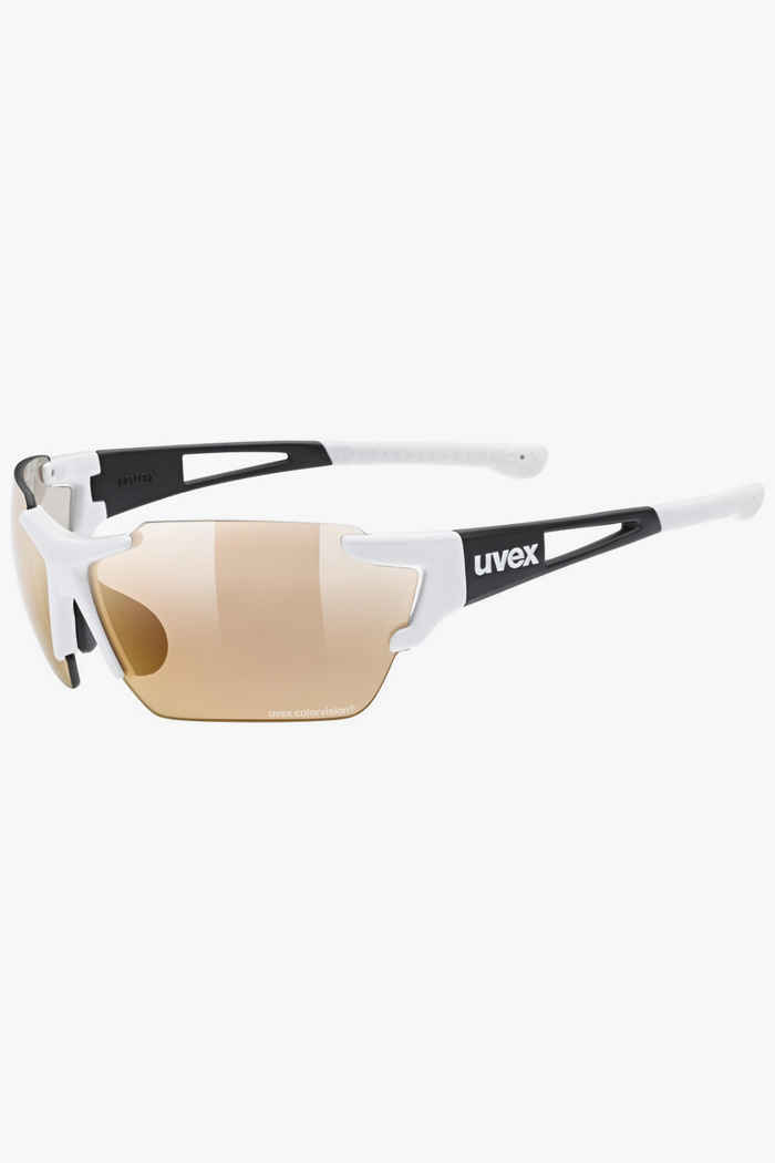 Uvex Sportstyle 803 race CV V occhiali sportiv Colore Bianco 1