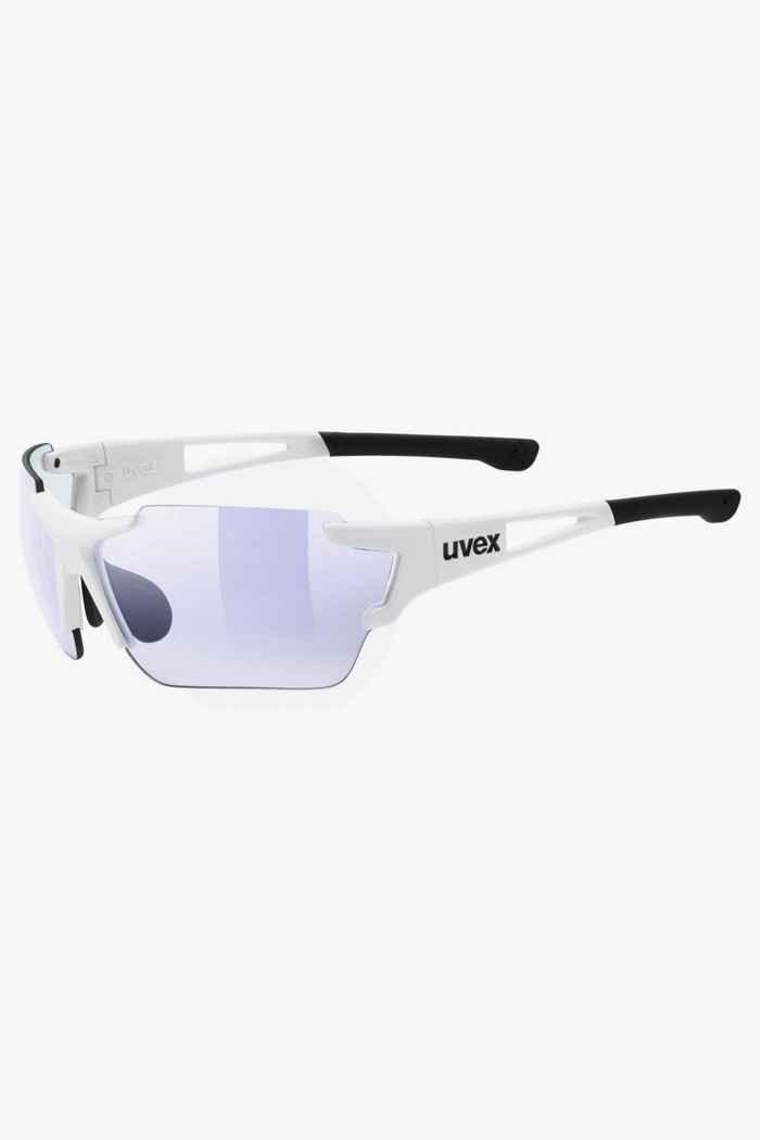 Uvex Sportstyle 803 race V lunettes de sport Couleur Blanc 1