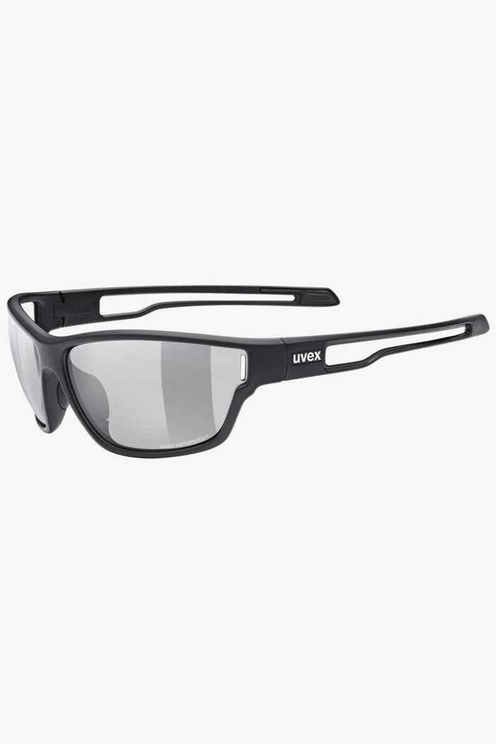 Uvex Sportstyle 806 V lunettes de sport Couleur Noir 1