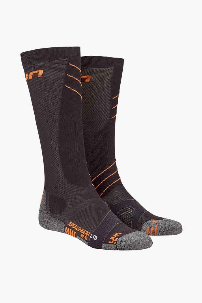 UYN Superleggera 42-44 chaussettes de ski hommes Couleur Orange 1