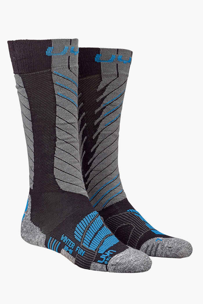 UYN Winter Fun 35-38 chaussettes de ski Couleur Bleu 1