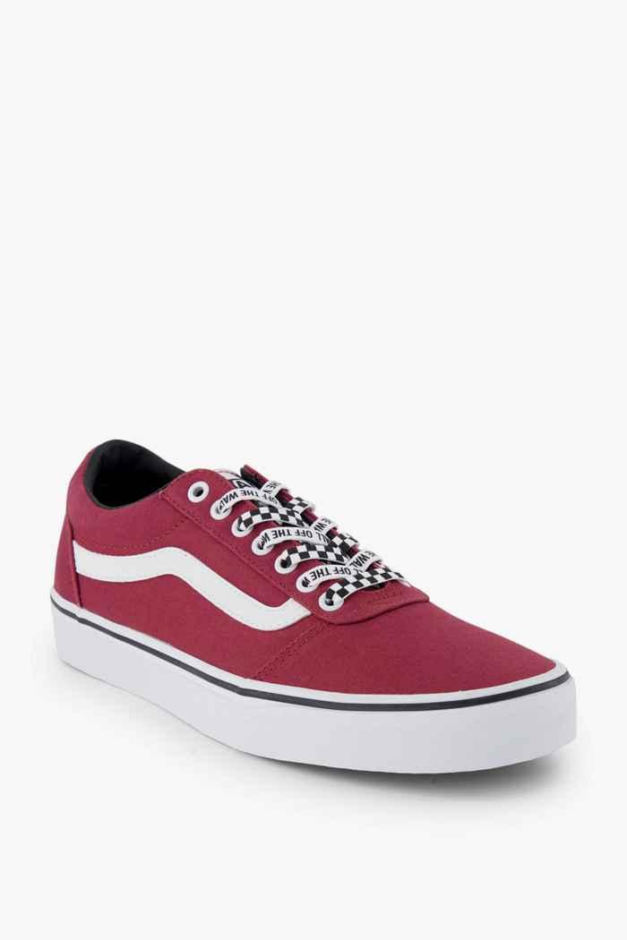 Vans Ward Old Skool sneaker hommes Couleur Rouge 1
