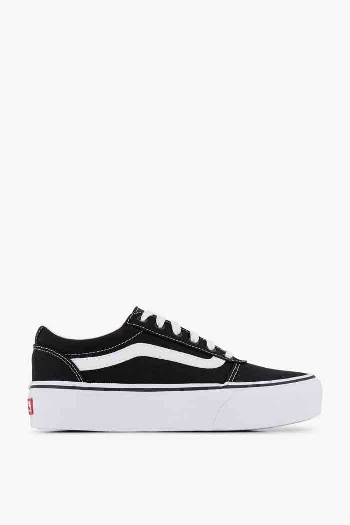 Vans Ward Plattform Old Skool sneaker donna Colore Nero-bianco 2