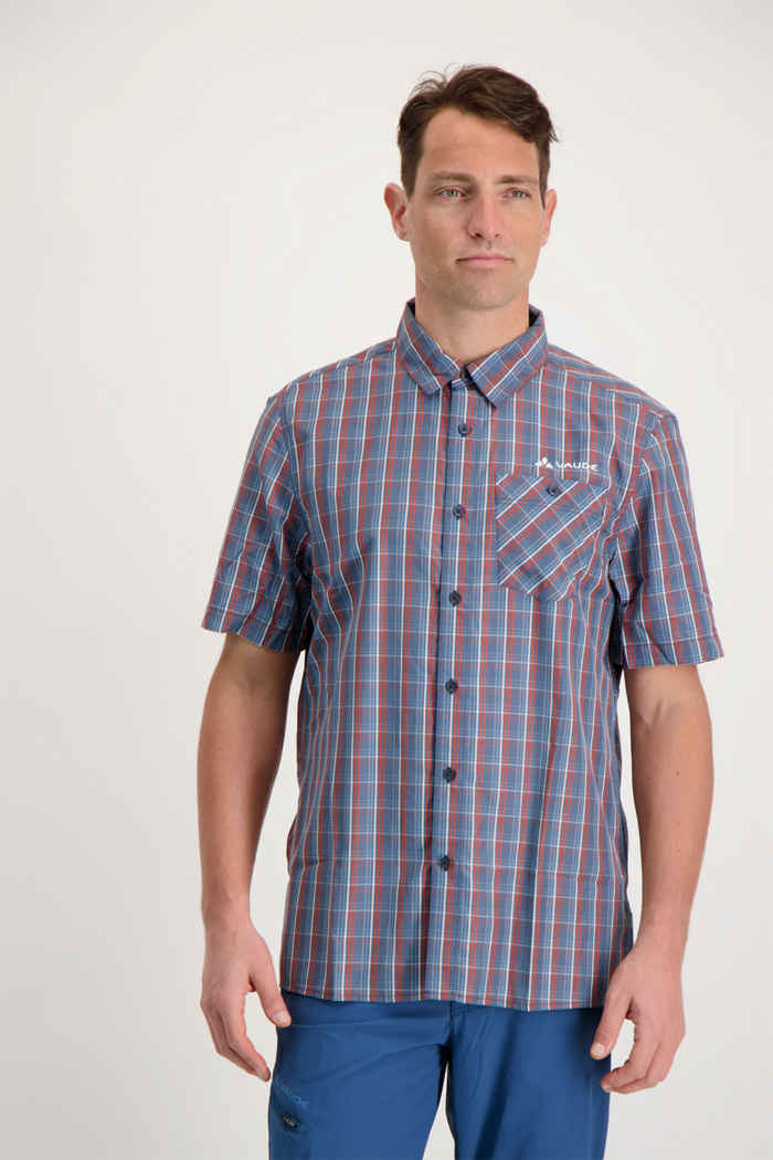 Vaude Albsteig II chemise de randonnée hommes Couleur Bleu 1