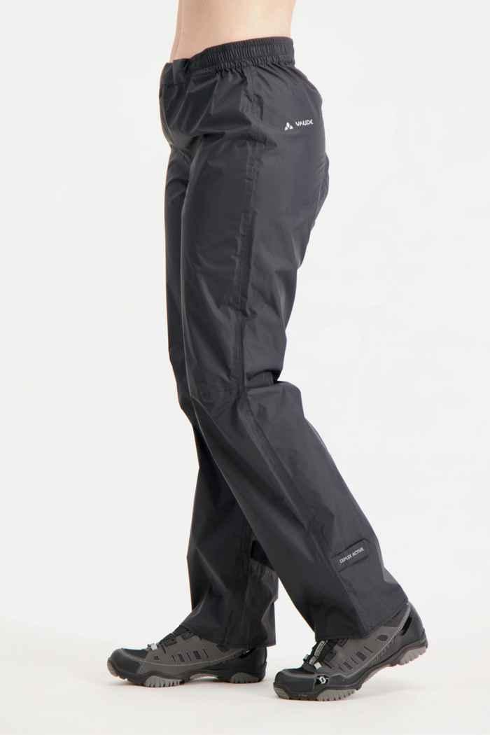 Vaude Drop II pantaloni antipioggia donna Colore Nero 1