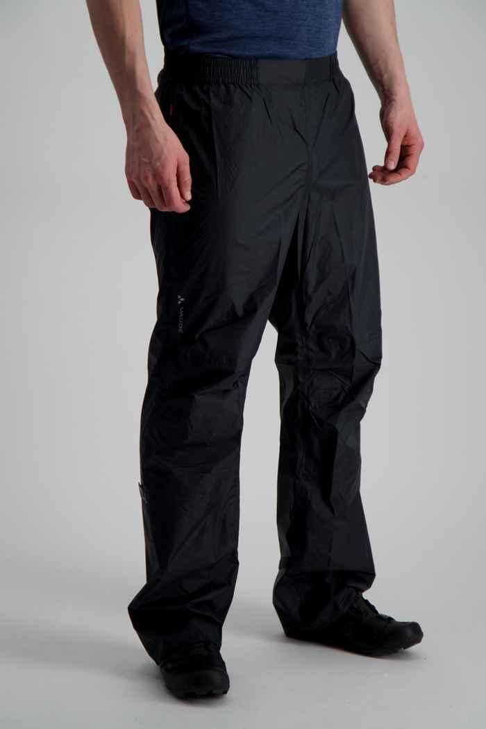 Vaude Drop II pantaloni antipioggia uomo Colore Nero 1