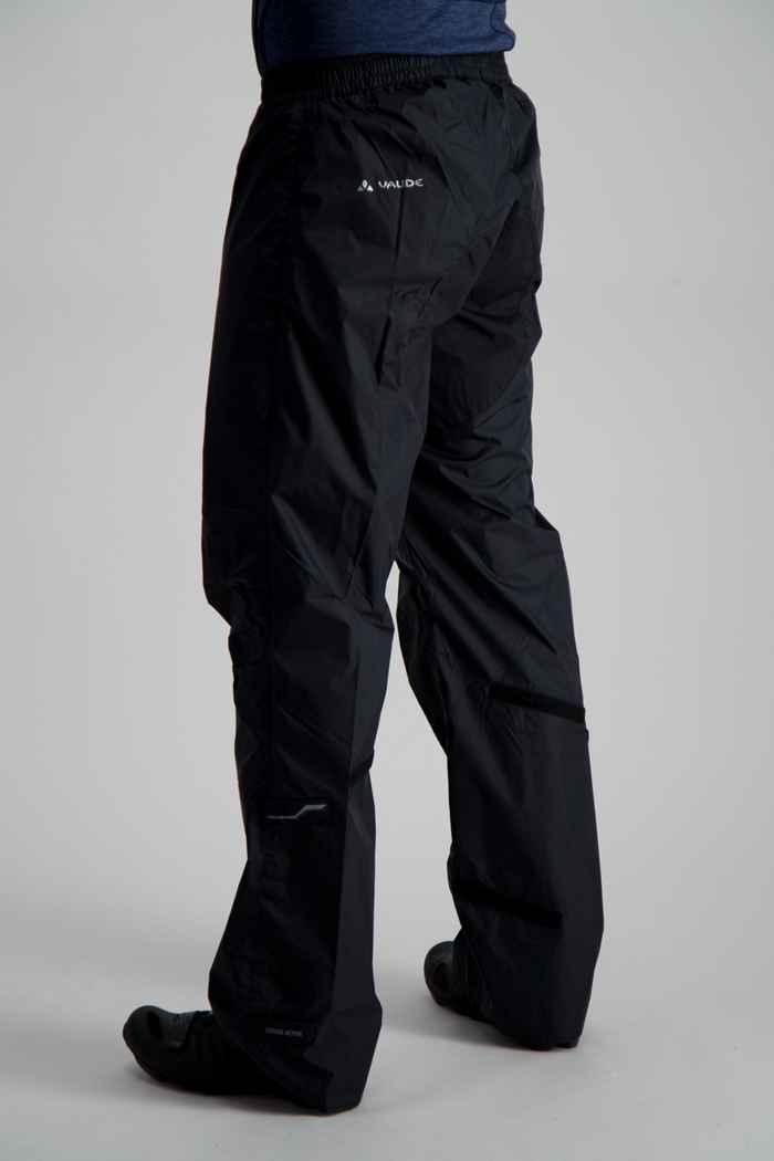 Vaude Drop II pantaloni antipioggia uomo Colore Nero 2
