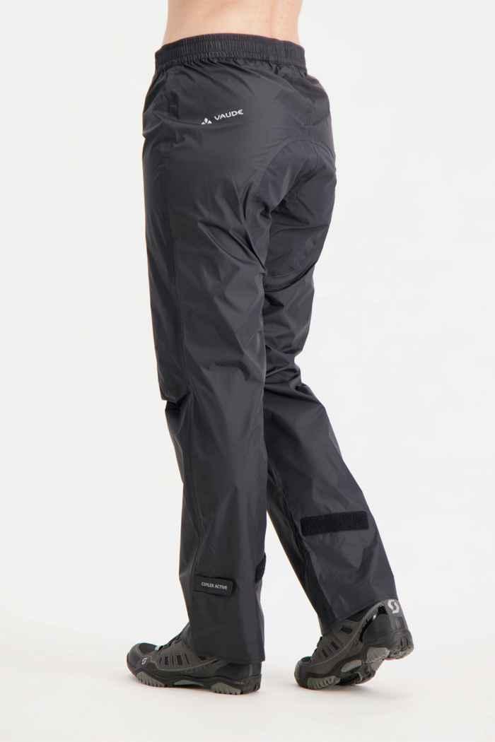 Vaude Drop II taglia lunga pantaloni antipioggia donna Colore Nero 2