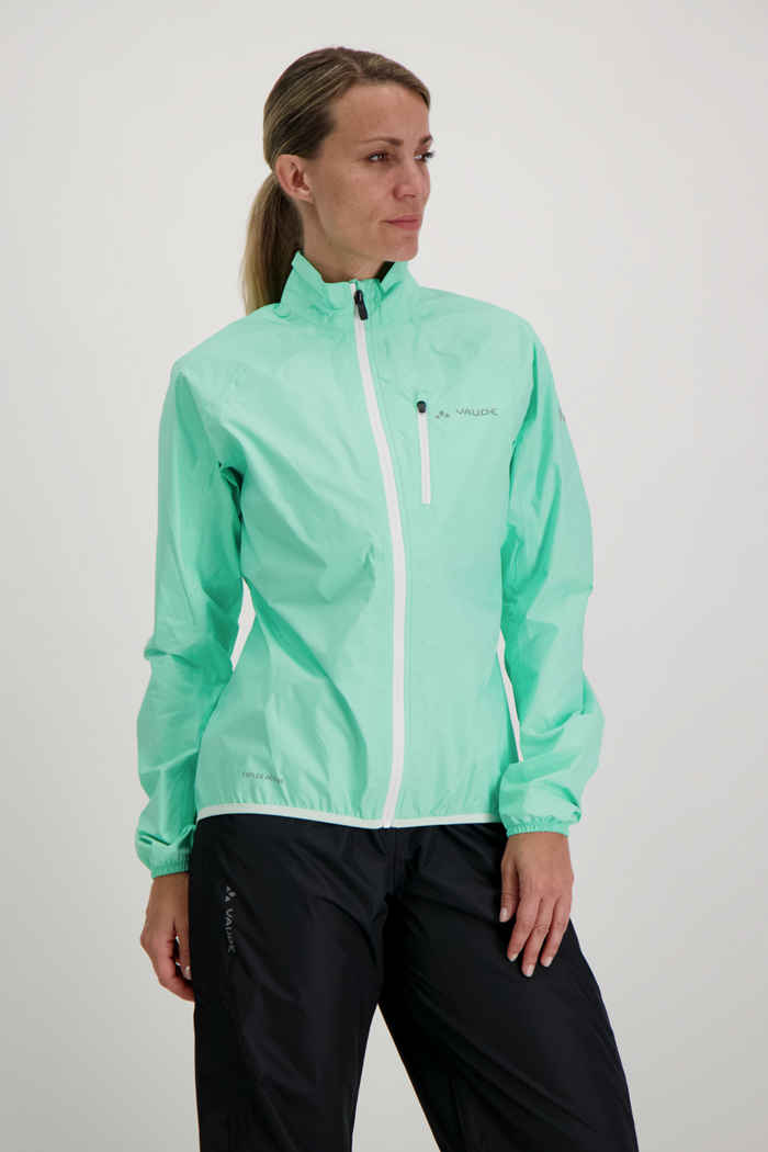 Vaude Drop III giacca da bike donna Colore Verde menta 1