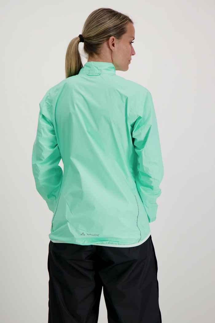 Vaude Drop III giacca da bike donna Colore Verde menta 2